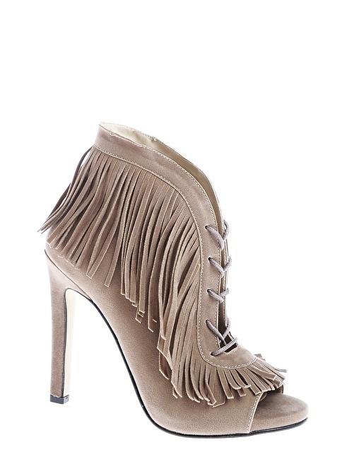 Derigo Topuklu Ayakkabı Vizon